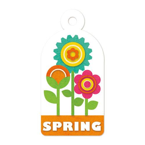 We R Memory Keepers - Embossed Tags - Spring