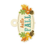 We R Memory Keepers - Embossed Tags - Hello Fall
