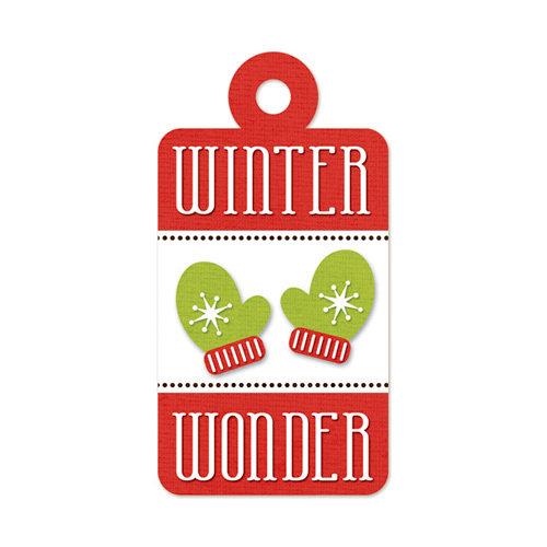 We R Memory Keepers - Embossed Tags - Winter Wonder