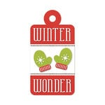 We R Memory Keepers - Embossed Tags - Winter Wonder