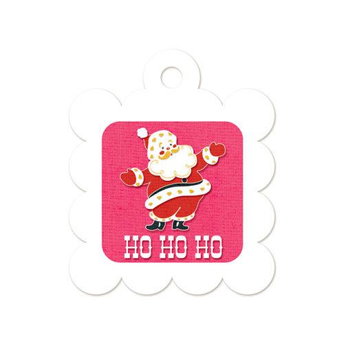 We R Memory Keepers - Embossed Tags - Ho Ho Ho