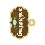 We R Memory Keepers - Embossed Tags - You Are Amazing