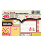 We R Memory Keepers - Be My Valentine Collection - 4 x 6 Albums Made Easy Pad