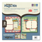 We R Memory Keepers - Travel Light Collection - 12 x 12 Designer Page Kit