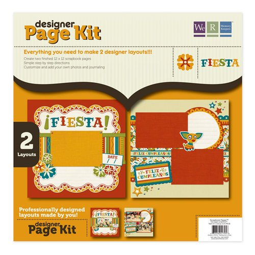 We R Memory Keepers - Fiesta Collection - 12 x 12 Designer Page Kit
