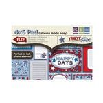 We R Memory Keepers - Yankee Doodles Collection - 4 x 6 Albums Made Easy Pad