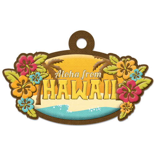 We R Memory Keepers - Destination Collection - Embossed Tags - Hawaii