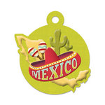 We R Memory Keepers - Destination Collection - Embossed Tags - Mexico