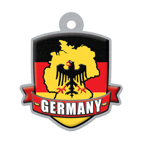 We R Memory Keepers - Destination Collection - Embossed Tags - Germany