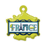 We R Memory Keepers - Destination Collection - Embossed Tags - France