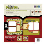 We R Memory Keepers - Friends Furever Collection - 12 x 12 Designer Page Kit