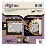 We R Memory Keepers - Spookville Collection - Halloween - 12 x 12 Designer Page Kit