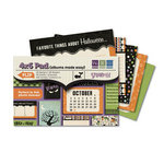 We R Memory Keepers - Spookville Collection - Halloween - 4 x 6 Albums Made Easy Pad