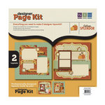 We R Memory Keepers - Autumn Splendor Collection - 12 x 12 Designer Page Kit