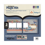 We R Memory Keepers - Vintage T Collection - 12 x 12 Designer Page Kit