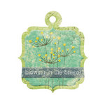 We R Memory Keepers - Good Day Sunshine Collection - Embossed Tags - Breeze