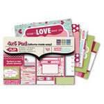We R Memory Keepers - Love Struck Collection - 4 x 6 Albums Made Easy Pad