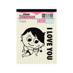 We R Memory Keepers - Love Struck Collection - Clear Acrylic Stamps - Cupid