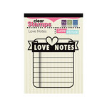 We R Memory Keepers - Love Struck Collection - Clear Acrylic Stamps - Love Notes