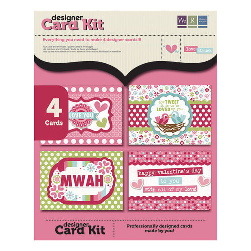 We R Memory Keepers - Love Struck Collection - Mini Card Kit