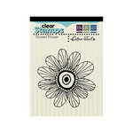 We R Memory Keepers - Cotton Tail Collection - Clear Acrylic Stamps - Flower Power