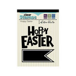 We R Memory Keepers - Cotton Tail Collection - Clear Acrylic Stamps - Hoppy Easter