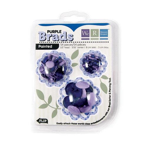 We R Memory Keepers - Brad Basics - Painted - Purple