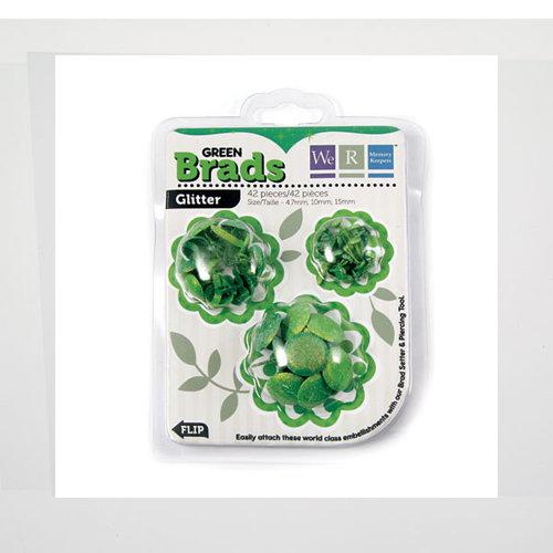 We R Memory Keepers - Brad Basics - Glitter - Green