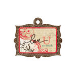 We R Memory Keepers - Anthologie Collection - Embossed Tags - Love U