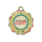 We R Memory Keepers - Anthologie Collection - Embossed Tags - You Are My Happy