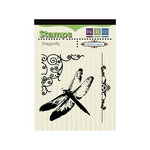 We R Memory Keepers - Anthologie Collection - Clear Acrylic Stamps - Dragon Fly
