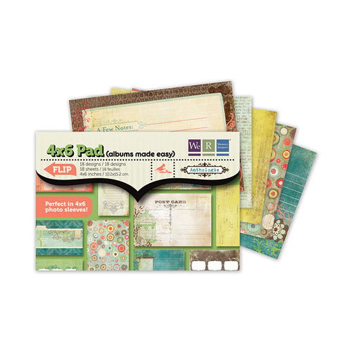 We R Memory Keepers - Anthologie Collection - 4 x 6 Albums Made Easy Pad