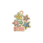 We R Memory Keepers - Down the Boardwalk Collection - Embossed Tags - Star