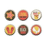 We R Memory Keepers - Down the Boardwalk Collection - Bottle Caps