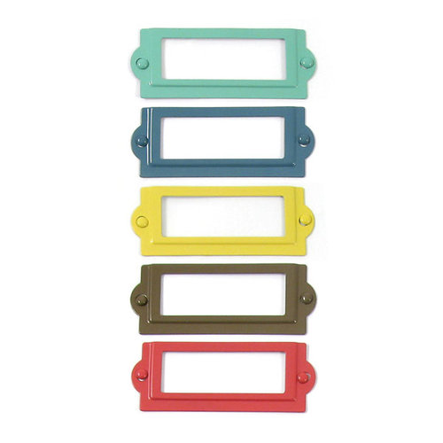 We R Memory Keepers - Down the Boardwalk Collection - Metal Frames and Brads