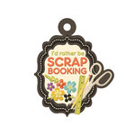 We R Memory Keepers - Love 2 Craft Collection - Embossed Tags - Scrapbooking