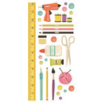 We R Memory Keepers - Love 2 Craft Collection - Embossed Cardstock Stickers