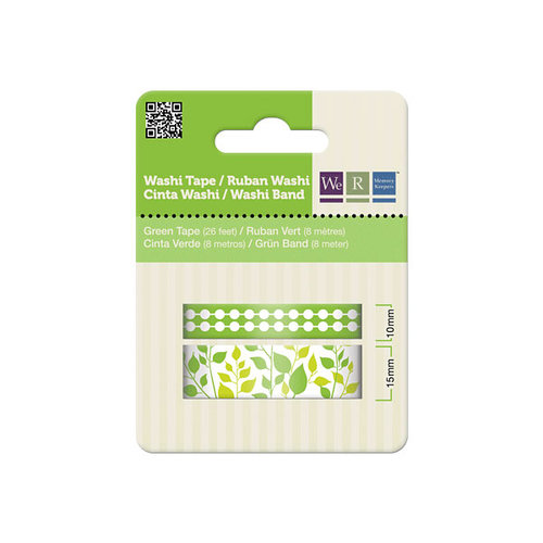 We R Memory Keepers - Washi Tape - Green