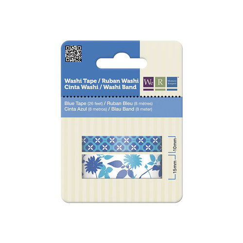 We R Memory Keepers - Washi Tape - Blue