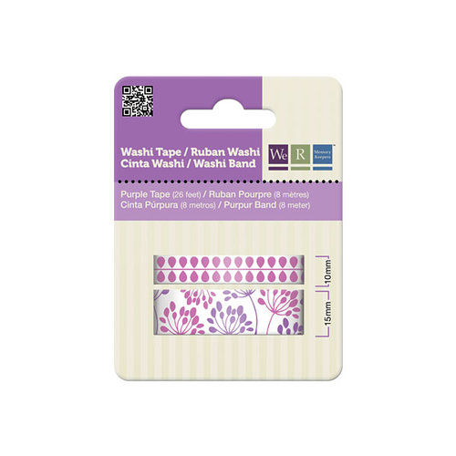 We R Memory Keepers - Washi Tape - Purple