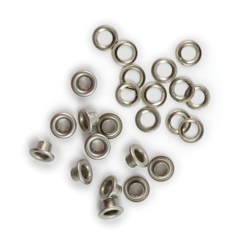 We R Memory Keepers - 316 Eyelets and Washers - Nickel
