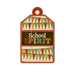 We R Memory Keepers - Hall Pass Collection - Embossed Tags - School Spirit