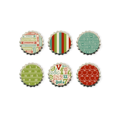 We R Memory Keepers - Hall Pass Collection - Bottle Caps