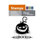 We R Memory Keepers - Black Widow Collection - Halloween - Clear Acrylic Stamps - Boo
