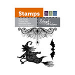 We R Memory Keepers - Black Widow Collection - Halloween - Clear Acrylic Stamps - Cobwebs