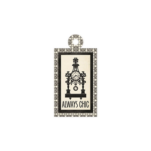 We R Memory Keepers - Antique Chic Collection - Embossed Tags - Chic