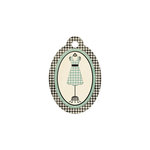 We R Memory Keepers - Antique Chic Collection - Embossed Tags - Dress