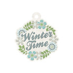 We R Memory Keepers - Winter Frost Collection - Embossed Tags - Winter Time