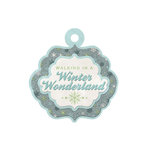 We R Memory Keepers - Winter Frost Collection - Embossed Tags - Winter Wonderland