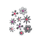 We R Memory Keepers - Crazy For You Collection - Metal Flowers